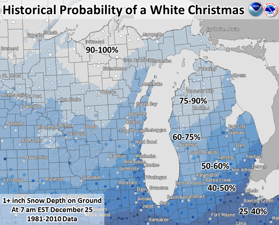 Will Grand Rapids Mi Have A White Christmas In 2021? Dreaming Of A White Christmas