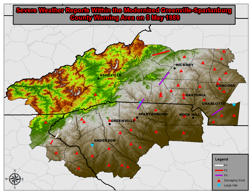 A Look Back At The Western Carolina Violent Tornado