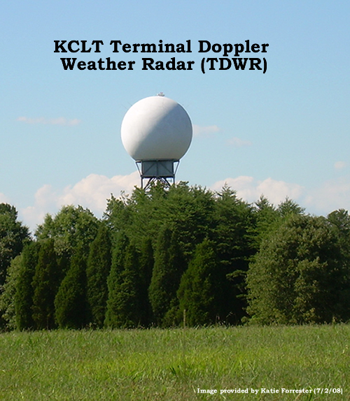 Terminal Doppler Weather Radar Tdwr Charlotte Nc