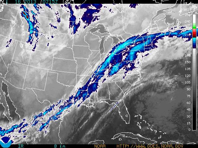 weather graphics NWS Gray Maine