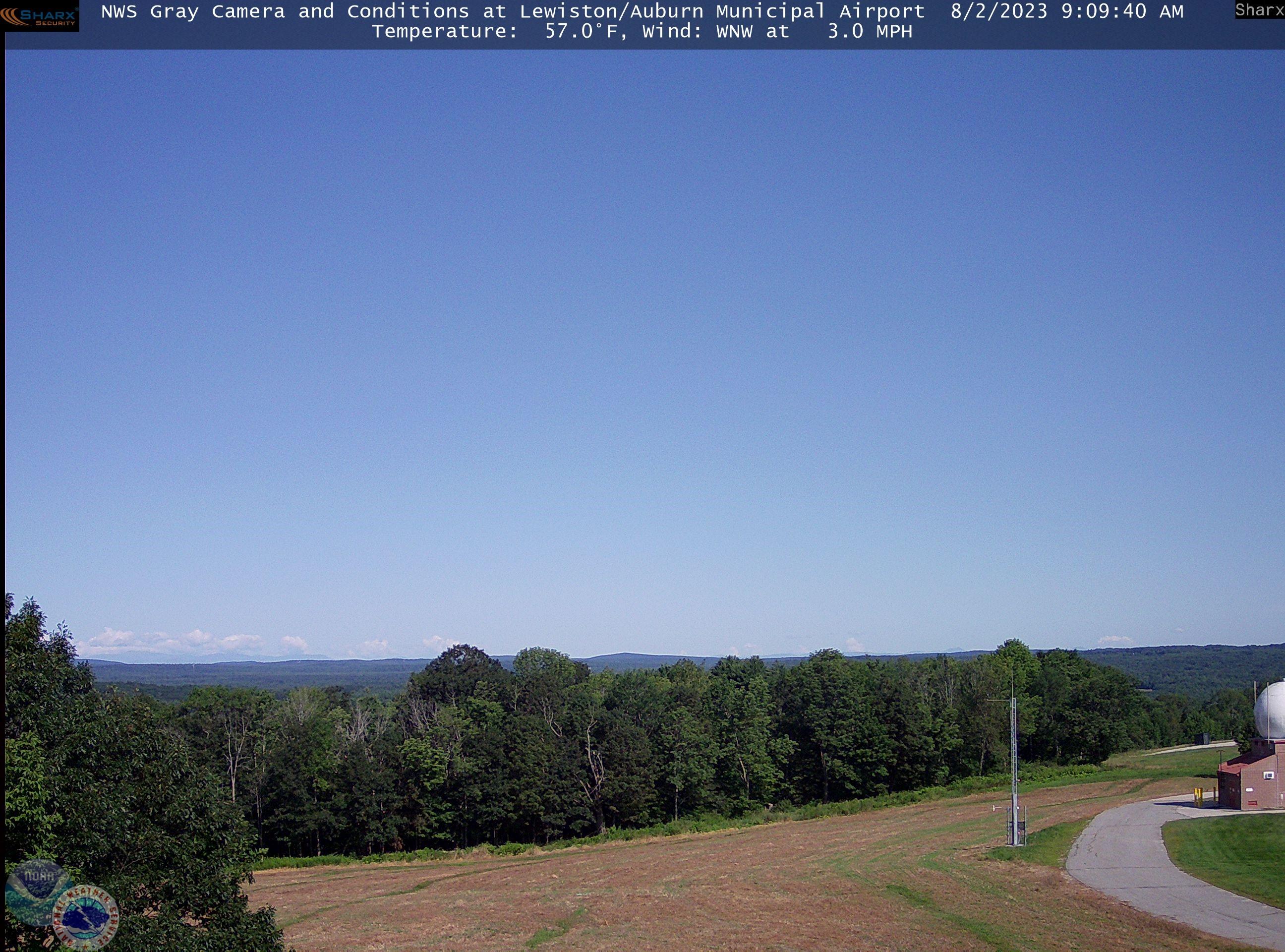 Lewiston/Auburn Municipal Airport Webcams