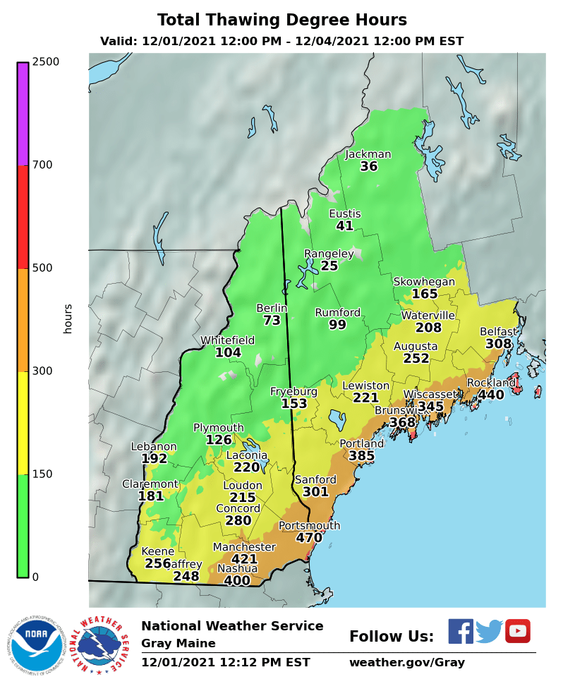 Storm Total Ice Forecast