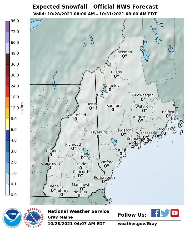 Northeast Snowfall Forecast