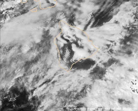 Visible satellite 00 UTC