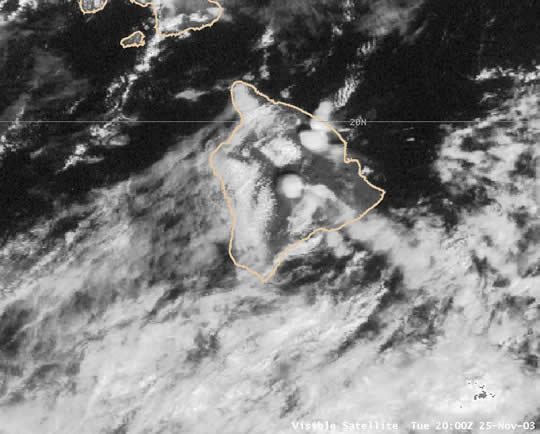 Visible satellite 20 UTC