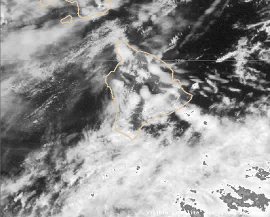 Visible satellite 22 UTC