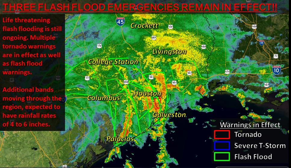 Radar Hurricane Harvey Info