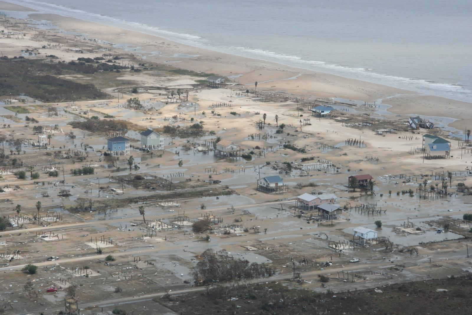 Hurricane Ike Bolivar Peninsula Damage