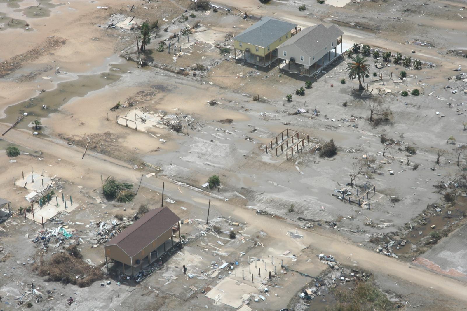 Hurricane Ike Bolivar Peninsula Damage