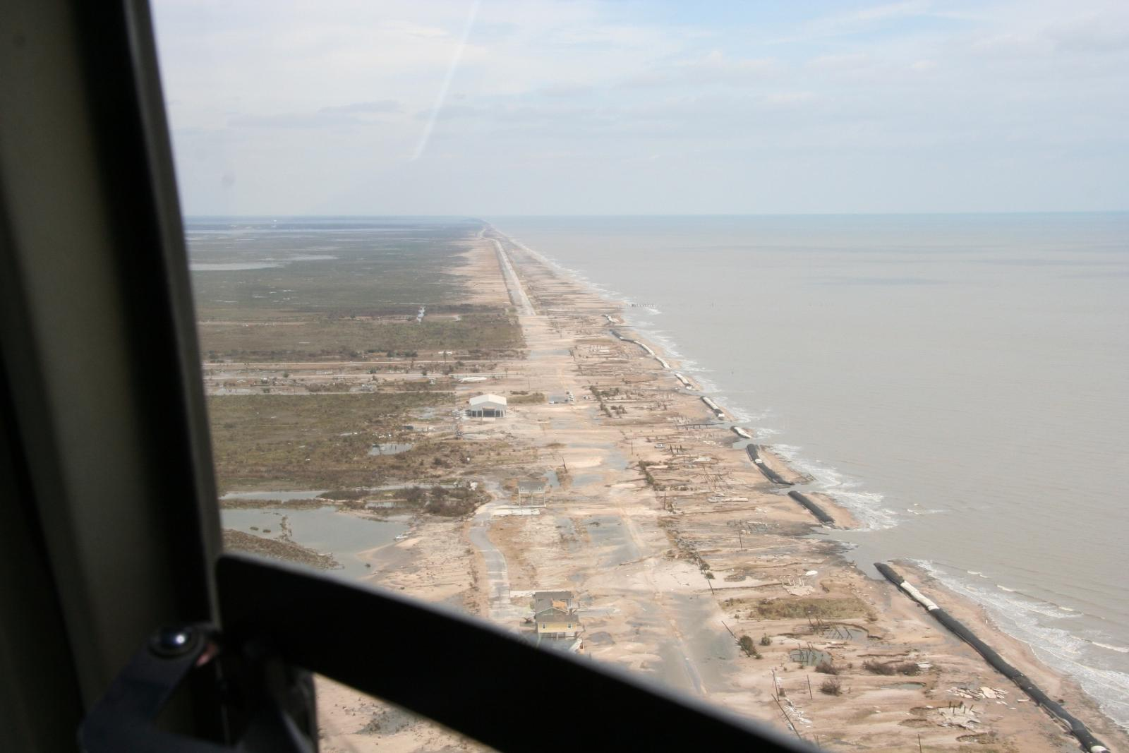 Bolivar Peninsula Damage