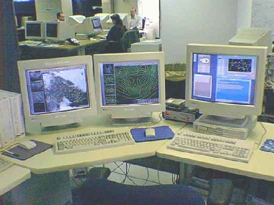 AWIPS was installed at WFO HGX in July 1998.