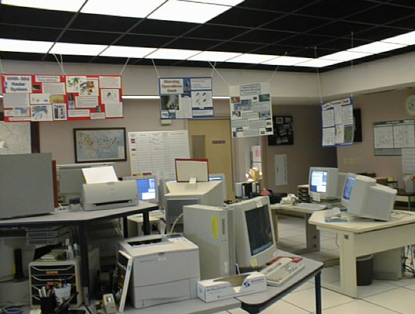 The operations area is considered the main hub of the office.
