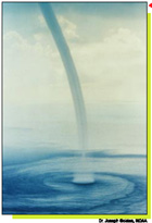 Waterspouts can be just as dangerous as tornadoes.