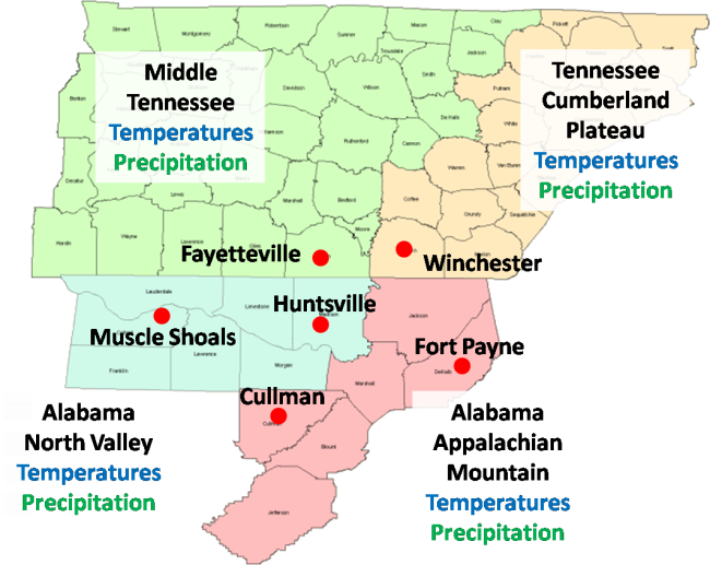 La Nina Winter Impacts in the Tennessee Valley