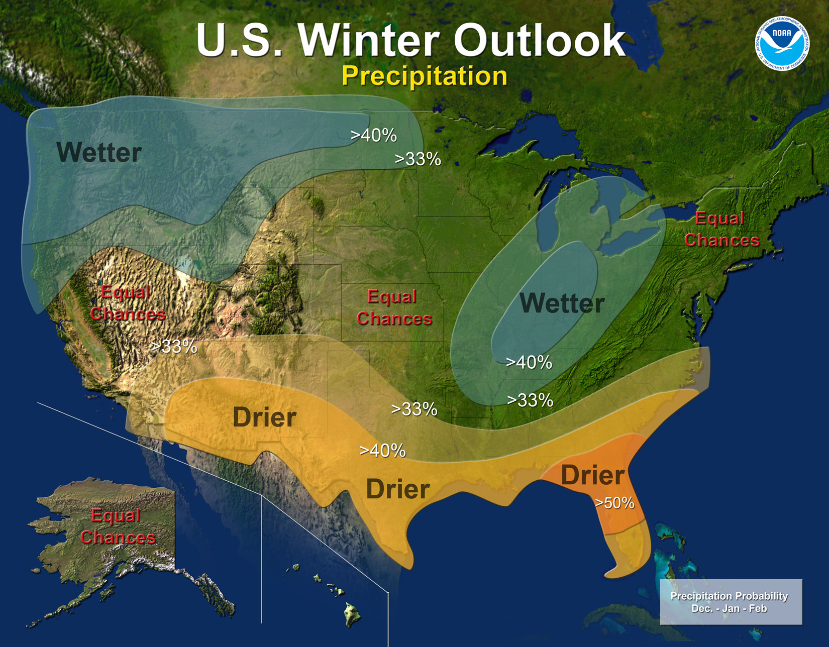 La Nina Winter Impacts In The Tennessee Valley - Us weather map for december