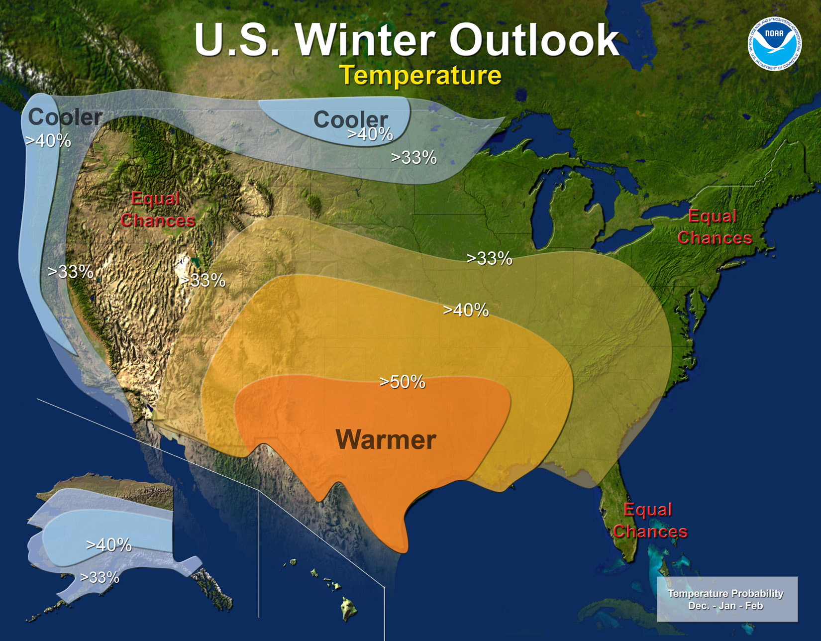 La Nina Winter Impacts In The Tennessee Valley - Map of weather patterns in the us