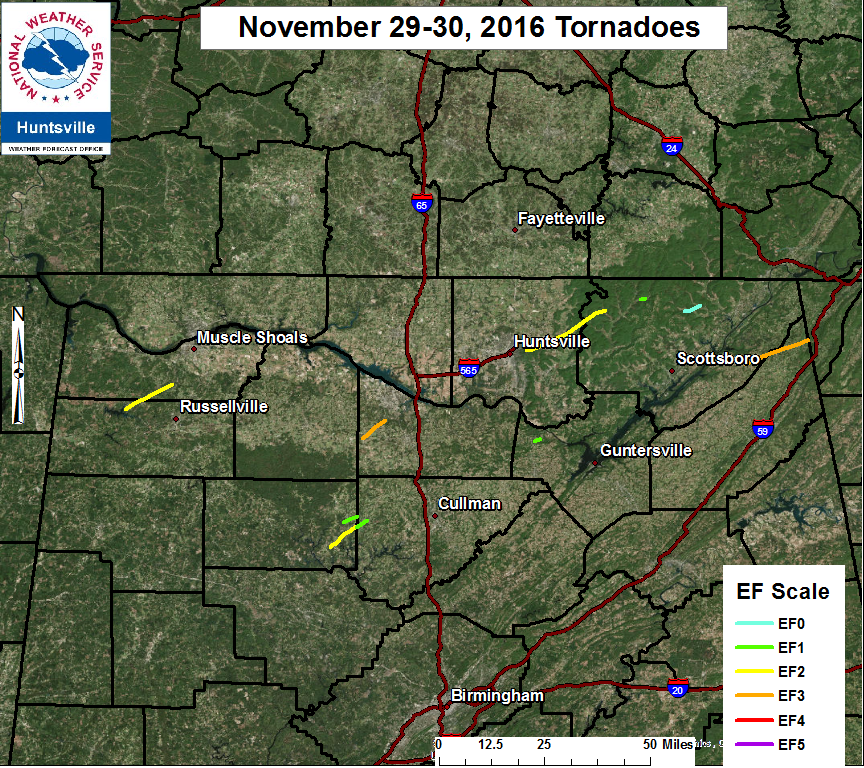 November 29th And 30th Severe Weather Tornado Outbreak