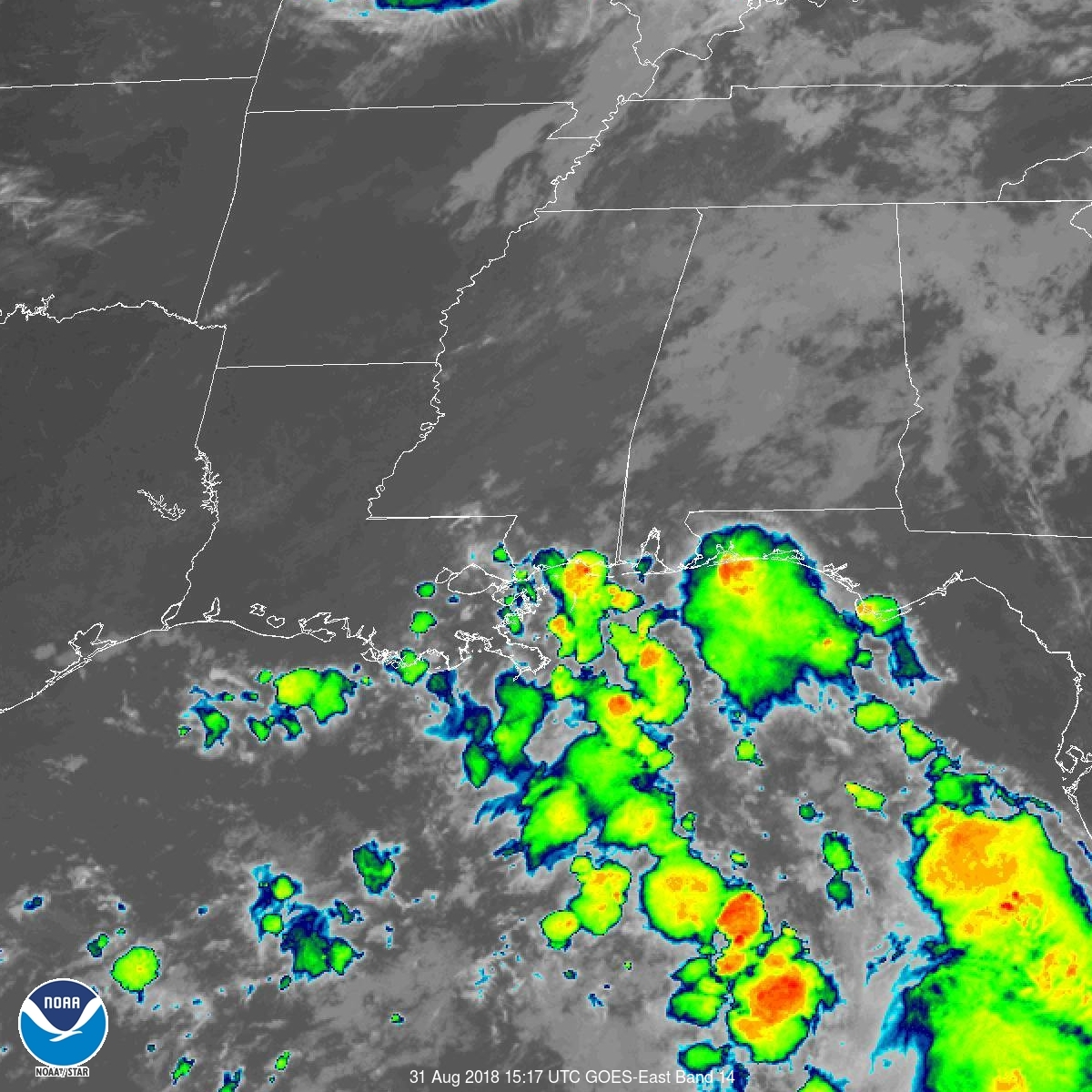 Live Weather Map Usa Satellite Images and Products