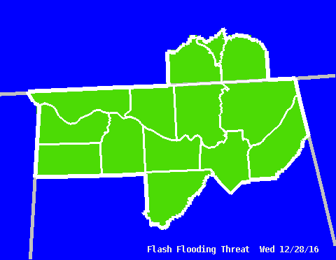 Flash Flood Threat