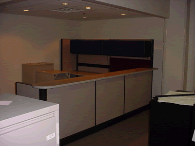Image of Lobby of New Office on September 5, 2002