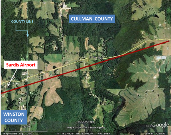 January 30th, 2013 EF-1 Tornado in Cullman County