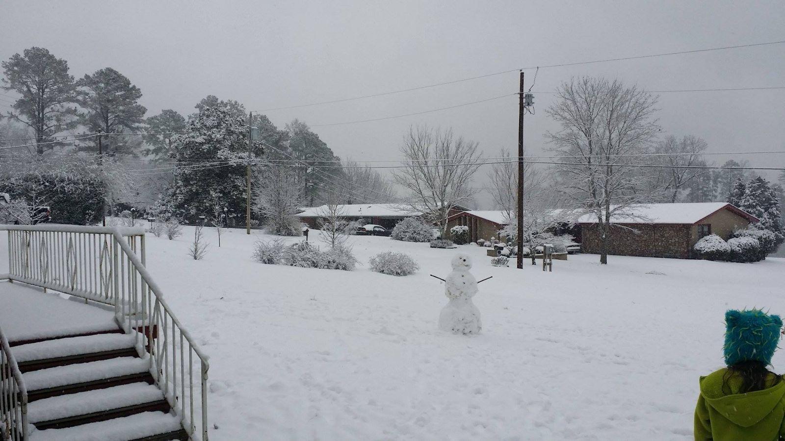 Heavy Snowfall February 25 2015