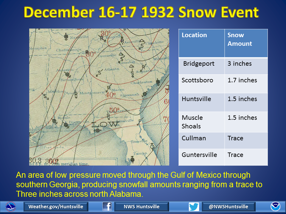 Huntsville Weather Map.Historical Weather Events Nws Huntsville