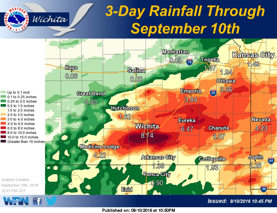 Extreme Rainfall And Flooding September 8 9th