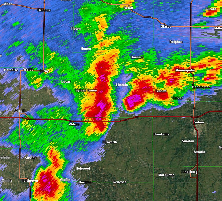 Severe Weather Strikes Central Kansas April 24th