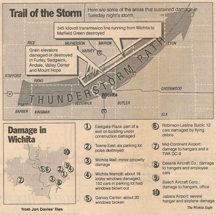 Info on the June 19th 1990 Inland Hurricane
