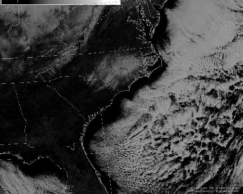 an image of the visible satellite imagery