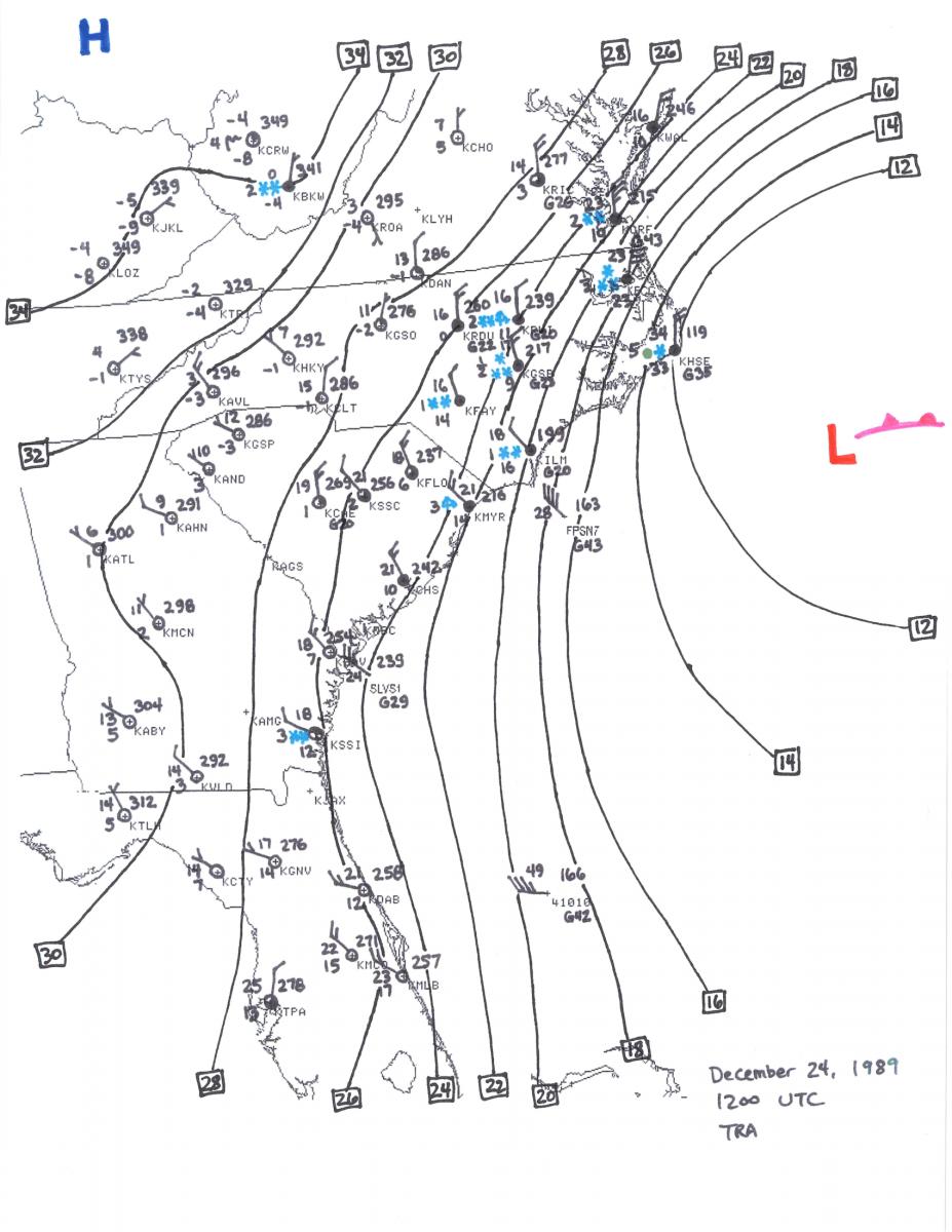 Christmas Coastal Snowstorm December - Map of georgia fayetteville