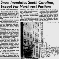 The Great Southeastern Snowstorm: February 9-11, 1973