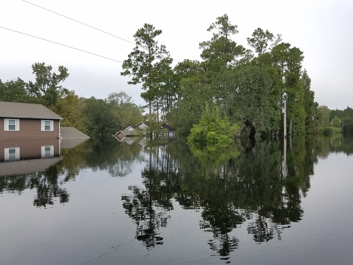 Lees Landing Circle near the Waccamaw River (Photo credit: Jonathan Lamb/NWS)