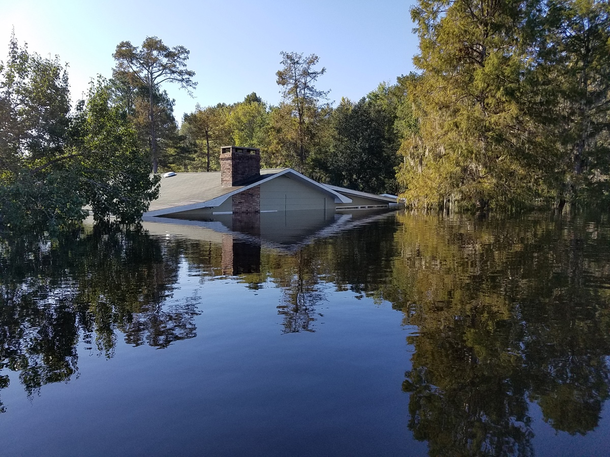 Severe flooding in Socastee, SC. (Photo credit: Jonathan Lamb/NWS)