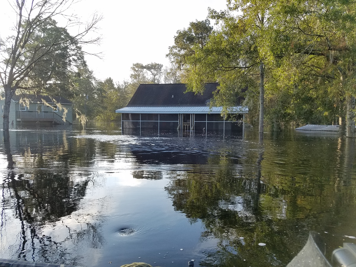 Waccamaw Drive. (Photo credit: Jonathan Lamb/NWS)