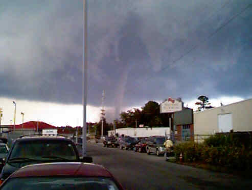 Myrtle Beach Tornadoes July 6 2001 Tornado Pictures