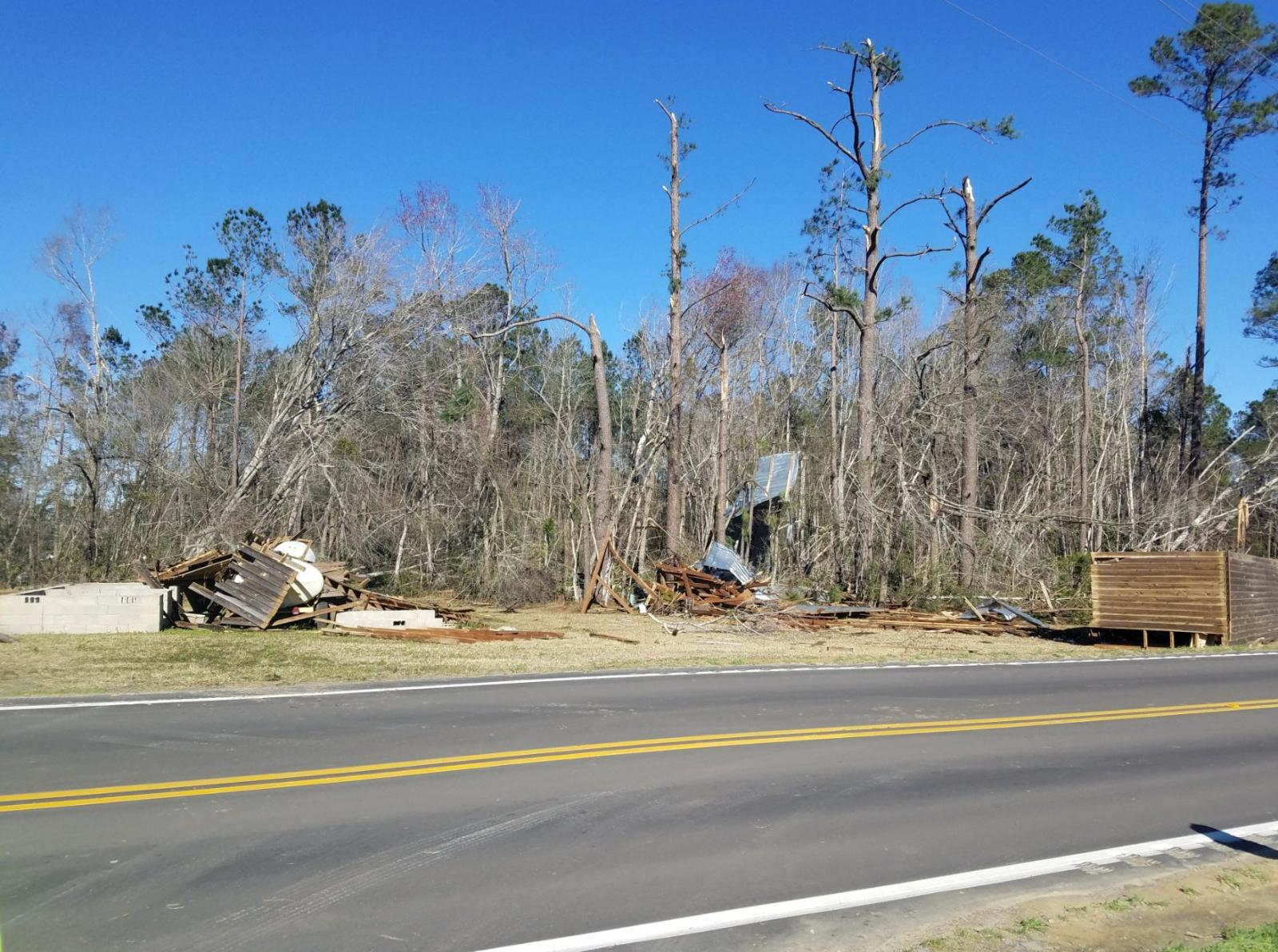 Climate Summary for 2017 across Southeastern North Carolina