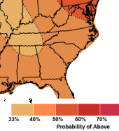 Fall 2020 Temperature Outlook from the NWS Climate Prediction Center