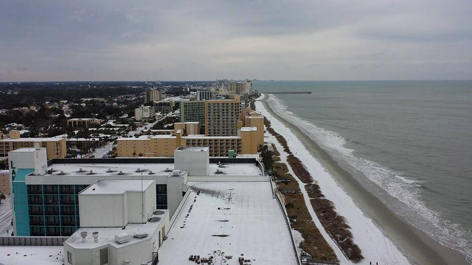 Myrtle Beach Snowfall Database Since 1940
