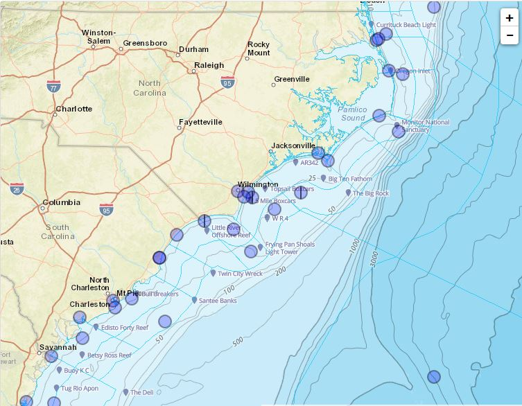 Marine Weather Map.Marine Information