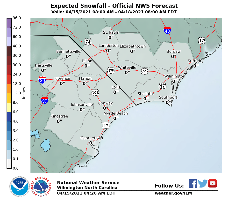 Winter Weather Nws Wilmington Nc