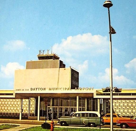 Terminal Building at Cox AP