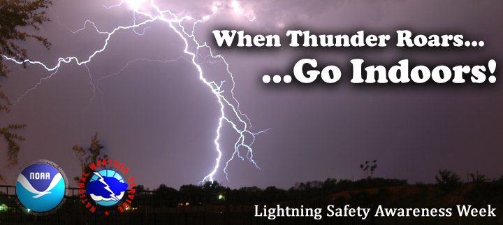 lightning safety awareness week