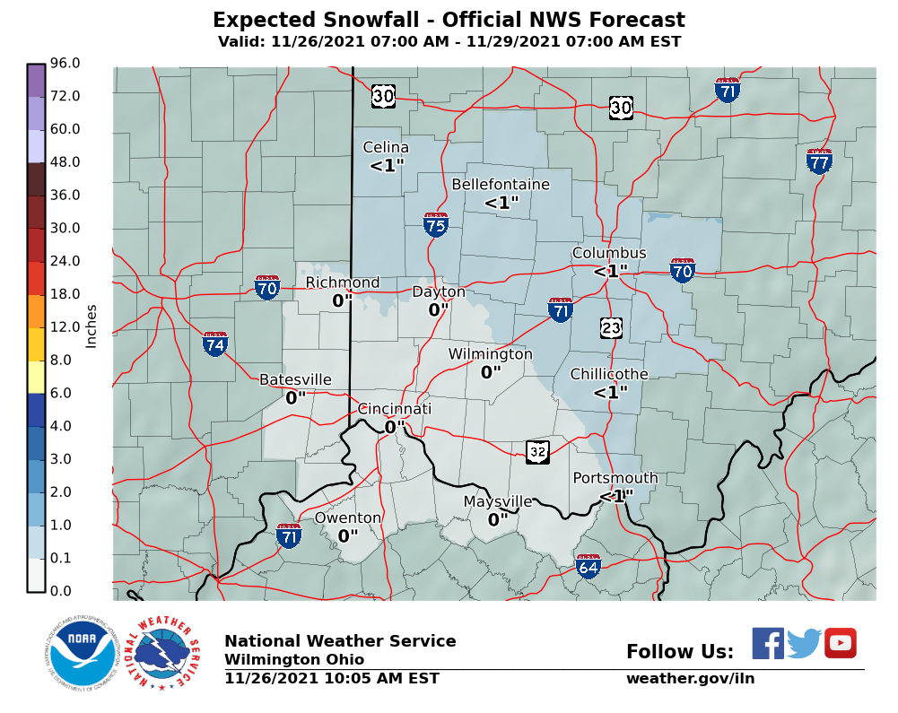 Northern KY Likely SNOW FALL