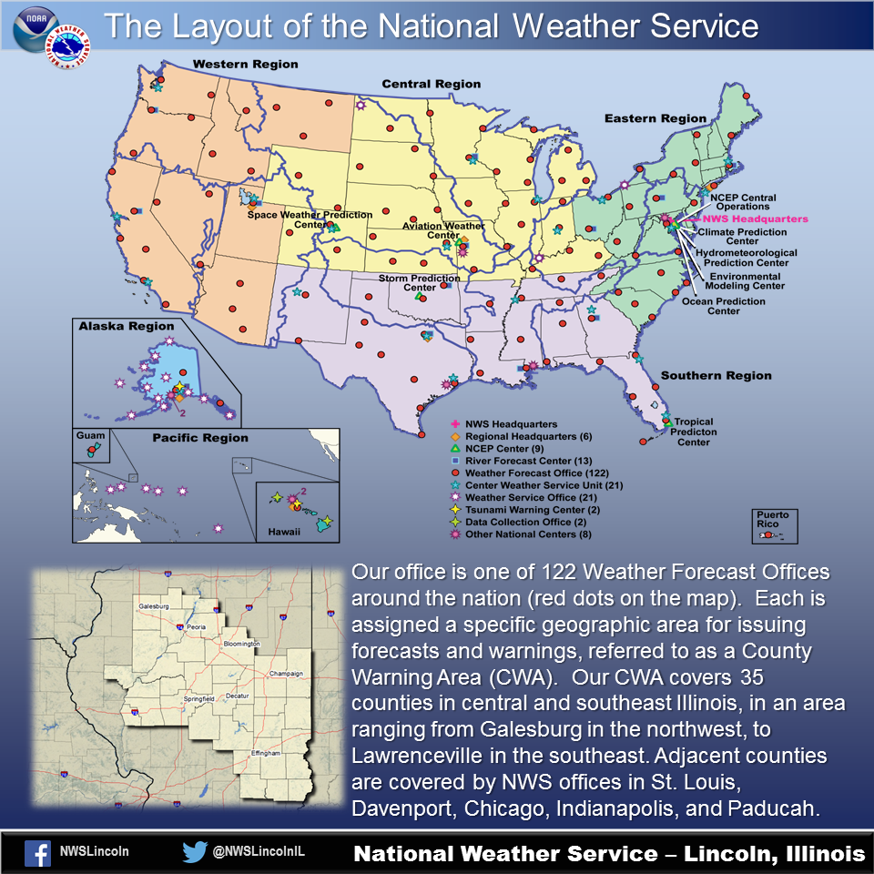 Short Educational Slides And Videos - Nws us weather map