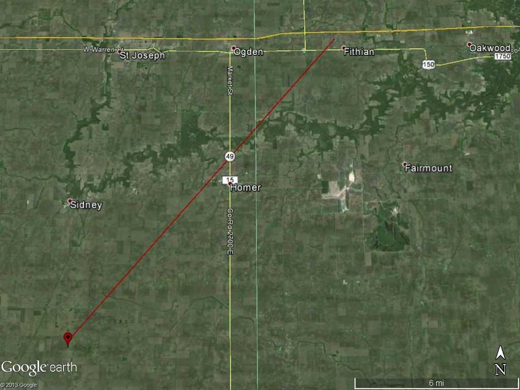 Illinois vermilion county fairmount - Bismarck Vermilion County
