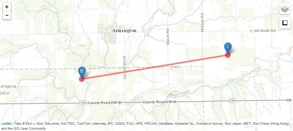 Illinois' Largest Tornado Outbreak: April 19, 1996