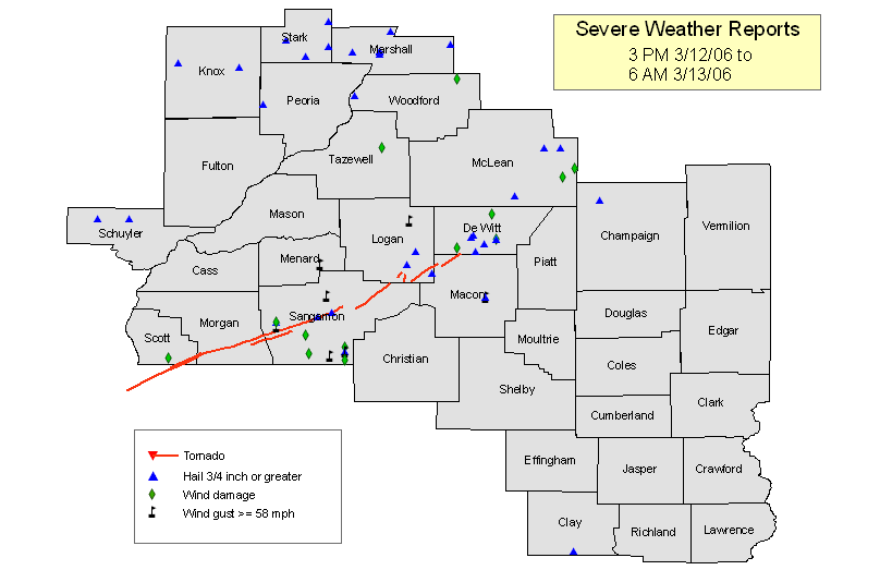 National Weather Service Lincoln IL Tornadic Supercell Of - National weather service lincoln illinois