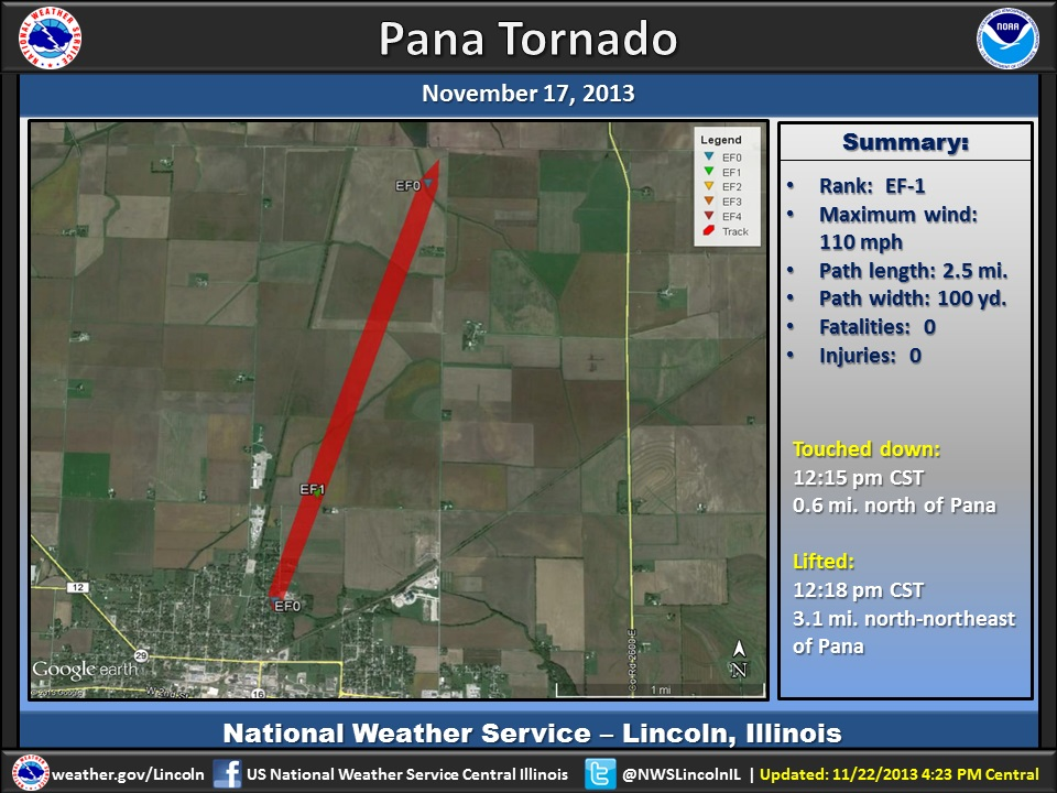 Pana Tornado Of 11 17 2013
